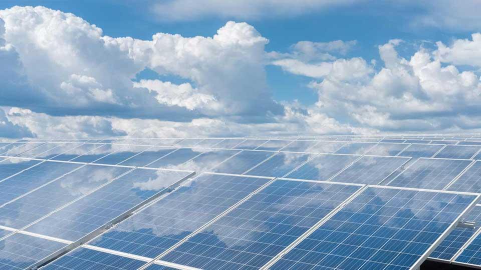 Placas Solares Produzindo